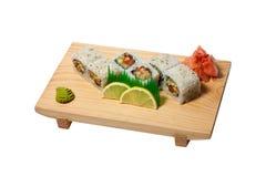 泰国的寿司 库存图片