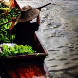 泰国的小船 库存图片