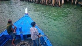 泰国的小船 免版税图库摄影
