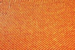 泰国的屋顶 图库摄影
