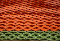 泰国的屋顶 库存照片
