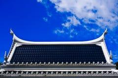 泰国的屋顶 免版税库存照片