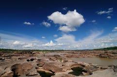 泰国的峡谷 免版税库存照片