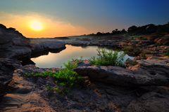 泰国的峡谷 库存照片