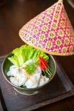 泰国的开胃菜 泰国的食物 免版税图库摄影
