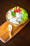 泰国的开胃菜 泰国的食物 免版税库存图片