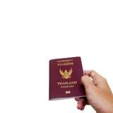泰国的护照 库存照片