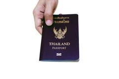 泰国的护照 库存图片