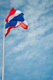 泰国的旗子 库存图片