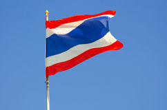 泰国的旗子 免版税库存照片