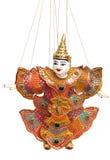 泰国的木偶 免版税库存照片