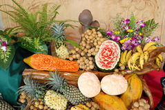 泰国的果子 免版税库存图片
