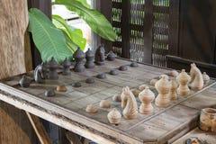 泰国的棋 库存照片