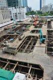 泰国的楼房建筑站点 免版税库存照片