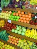 泰国的水果摊 免版税图库摄影