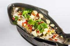 泰国的汤辣鱼 库存照片