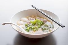 泰国的汤面 免版税库存照片