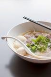 泰国的汤面 图库摄影