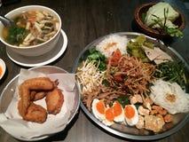 泰国的沙拉 免版税库存图片