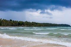 泰国的波浪 库存图片