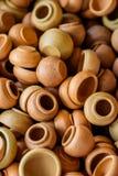 泰国的泥罐 免版税库存图片