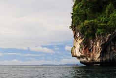 泰国的海岸线 图库摄影