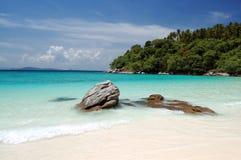 泰国的海滩 免版税库存照片