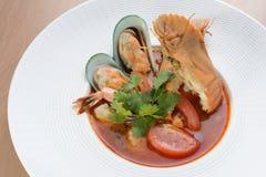 泰国的海鲜 免版税图库摄影