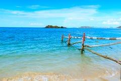 泰国的海滩 免版税图库摄影