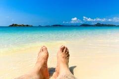 泰国的海滩 库存照片