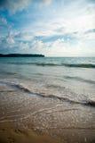 泰国的海滨 库存照片
