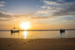 泰国的海 免版税图库摄影