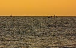 泰国的渔夫 免版税图库摄影