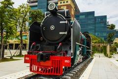 泰国的火车 免版税图库摄影