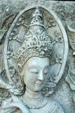 泰国的灰泥 图库摄影