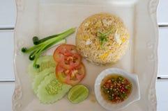 泰国的炒饭 免版税库存图片