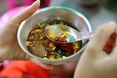 泰国的点心 图库摄影