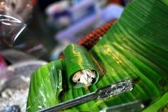 泰国的点心 免版税图库摄影