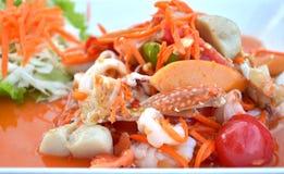 泰国的烹调 图库摄影