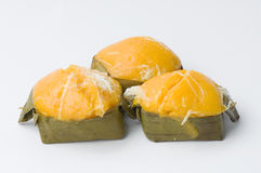 泰国的甜点 图库摄影