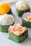 泰国的甜点 库存图片