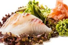 泰国的生鱼片 免版税库存图片