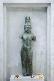 泰国的石雕象 库存图片