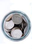 泰国的硬币 免版税图库摄影