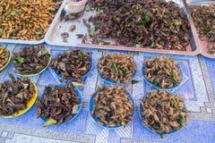 泰国的膳食 免版税库存照片