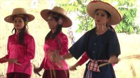 泰国的舞蹈 股票视频