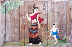 泰国的艺术 库存图片