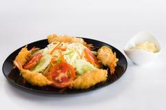 泰国的虾沙拉 免版税图库摄影