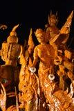 泰国的蜡 免版税库存照片