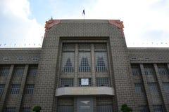 泰国的邮政历史的博物馆 免版税库存照片